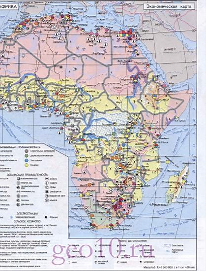 Карта африки подробная карта африки